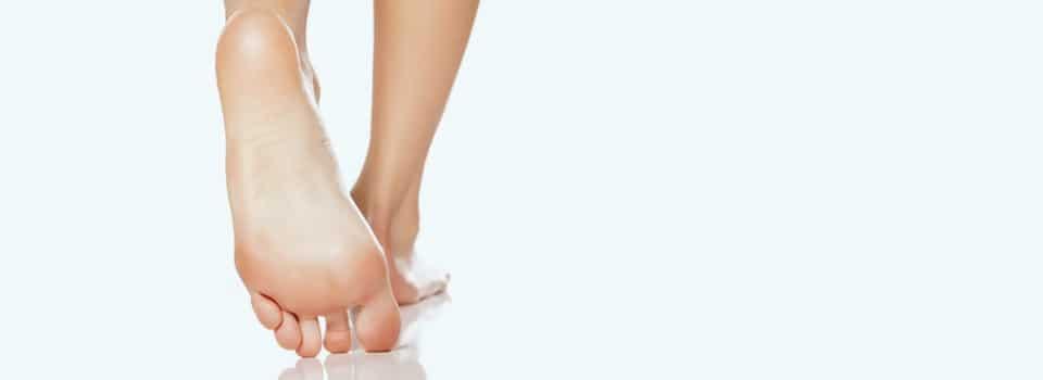 Füße nach der Fuß OP